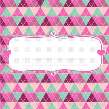 baby shower card for with frame vector clipart image 115386