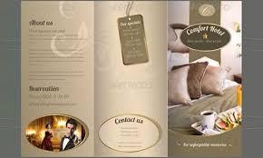 hotel brochure design templates hotel brochures sles fieldstation co