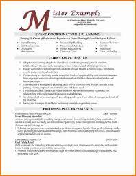Resume Event Planning 6 Event Planning Resume Cashier Resume