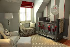 top 9 nursery decorating ideas in red and gray interiors by color