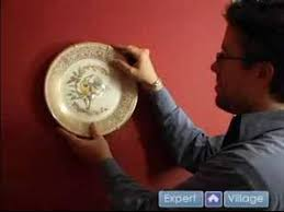 How To Hang Decorative Plates How To Hang A Picture Hanging Plates On A Wall Youtube