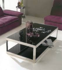 Glass Topped Coffee Tables Black Glass Topped Coffee Tables Eva Furniture