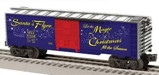 santa u0027s flyer ready run train set 0 8 0 steam loco 1225