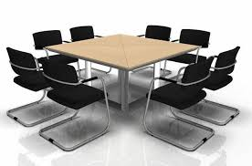 Square Boardroom Table Square Meeting Table With Meeting Furniture Boardroom