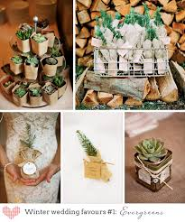 Top 10 Wedding Favors by Top 10 Winter Wedding Favors