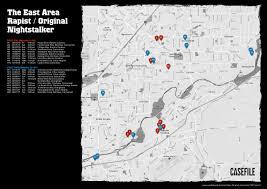 Valley Fair Map Case 53 The East Area 1977 Part 2 U2013 Casefile True Crime