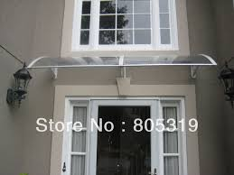 Sliding Door Awning Emejing Exterior Door Awning Contemporary Interior Design Ideas