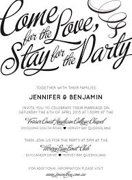 casual wedding invitations come for the stay for the party that general