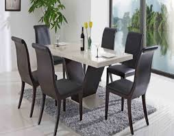 contemporary dining room furniture modern rectangular glass top