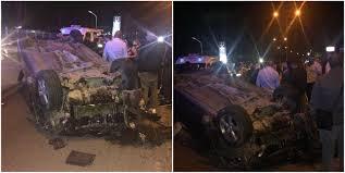si e auto auchan giugliano terribile incidente sul doppio senso travolti da una