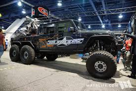 jeep calendar 2017 2017 sema rubicon express 6x6 jeep jk wrangler
