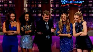 little mix show little mix appearing on james corden s late night us chat show last