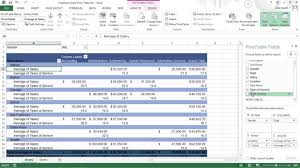How To Remove Pivot Table How To Modify Pivot Tables In Excel 2013 For Dummies Youtube