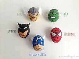 easter eggs great easter craft for little boys superhero easter