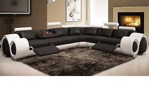 Reclining Sofa With Chaise Lounge by Sofa Sectional Sofas With Recliner Enrapture Sectional Sofa With