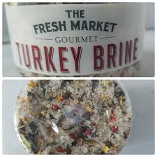 2 x the fresh market turkey brine spice blend thanksgiving
