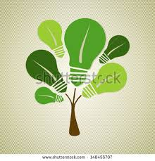 eco friendly light bulbs eco friendly renewable energy light bulbs stock illustration