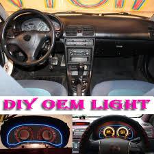 mazda 3 mx car atmosphere light flexible neon light el wire interior light