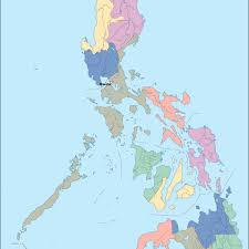 Philippine Map Philippine Map Vector Free Image Gallery Hcpr