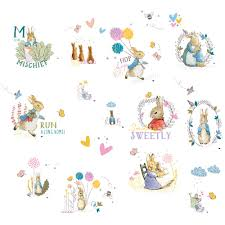 peter rabbit wall stickers australia wall murals you ll love beatrix potter murals uk wall you ll love