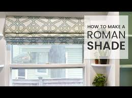 Making Roman Shade