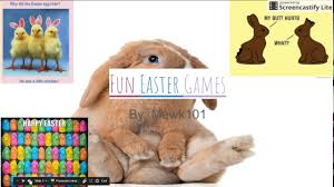 easter games fun easter games easter special youtube
