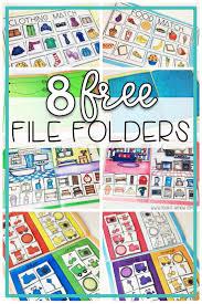 Peechy Folder File Folder Freebies Special Education Classroom Autism