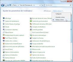 configurer bureau distance windows 7 panneau de configuration windows 7 aidewindows