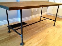 Bar Height Table Legs Great Details Including Supply List For A Diy Table With