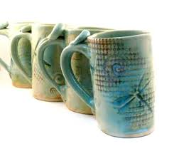 Ceramic Coffee Mugs Custom Made Ceramic Mug Dragonfly Coffee Cup Large Pottery Mug By