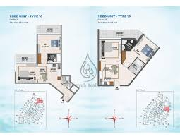 bayz by danube studio apartment floor plan