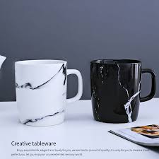 becher k che 350 ml marmorkorn becher trinkbehälter wasserflasche keramik