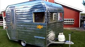 1961 u0027lil loafer aristocrat 12 u0027 vintage travel trailer youtube