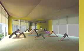 yoga studio j wood