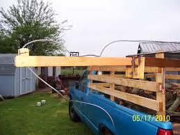 homemade pickup truck my truck crane arboristsite com