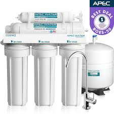 best rated under sink water filtration systems roes 50 essence series 50gpd under the sink reverse osmosis