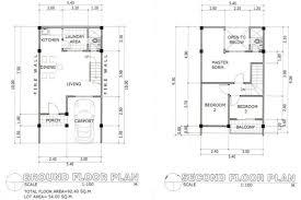 security guard house floor plan redwood subdivision cebu home properties cebu home properties