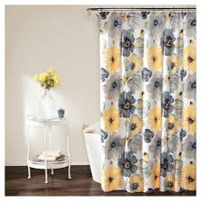 Target Gray Shower Curtain Gray Ruffle Shower Curtain Target