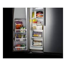 kitchenaid cabinet depth refrigerator kitchenaid counter depth refrigerator side by side krsc503ess