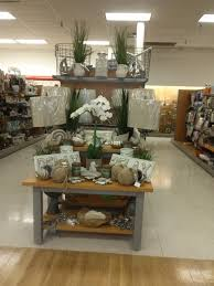 Tjmaxx Home Decor Merchandising Display Natural Beach Tj Maxx Endcap Topeka