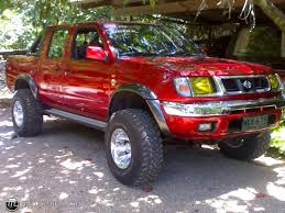 lifted silver nissan frontier 1999 nissan frontier information and photos zombiedrive