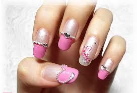 Rhinestone Nail Design Ideas Top 10 Most Attractive Rhinestone Nail Art Designs Beststylo Com