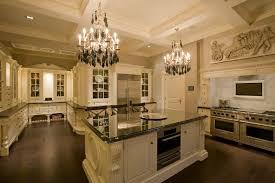 kitchen island chandelier kitchen decoration using white u shaped pertaining to island