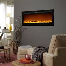 Yellow Fireplace by Touchstone 80004 Sideline50 Recessed Electric Fireplace 50