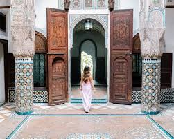 Moroccan Riad Floor Plan 10 Day Morocco Itinerary