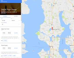 Seattle Google Map by Google Adds New Booking Link To Local Knowledge Panel