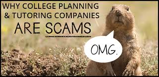 why college planning and tutoring companies are scams