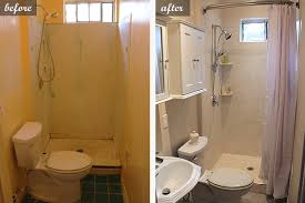 Remodel Small Bathroom Small Bathroom Remodel Ideas Withal Before And After Renovation In