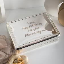 engravable box personalised jewellery trinket boxes gettingpersonal co uk