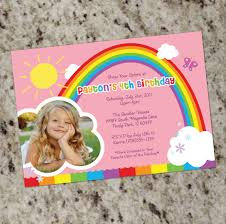 rainbow party birthday party invitations printable by whirlibird